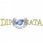 Logo da emissora Rádio Diplomata 100.3 FM