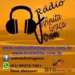 Logo da emissora Rádio Infinita Graça Jovem