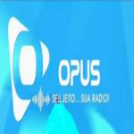 Logo da emissora Radio Opus fm