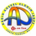 Logo da emissora Rádio Gospel Elohim FM Online