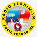 Logo da emissora Rádio Elohim FM