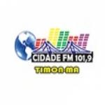 Logo da emissora Rádio Cidade 101.9 FM