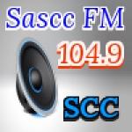 Logo da emissora Rádio Sascc 104.9 FM