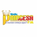 Logo da emissora Rádio Princesa 105.9 FM