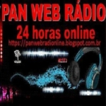 Logo da emissora Pan Web Rádio