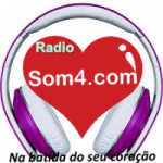 Logo da emissora Rádio Som 4
