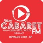 Logo da emissora Rádio Cabaret FM