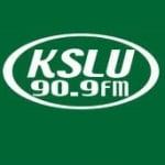 Logo da emissora Radio KSLU 90.9 FM