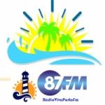 Logo da emissora Rádio Viva Porto 87.9  FM