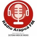 Logo da emissora Rádio Arapuá FM