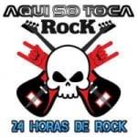 Logo da emissora Aqui Só Toca Rock