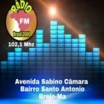 Logo da emissora FM Brasil Brejo 2000
