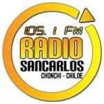 Logo da emissora Radio San Carlos 105.1 FM