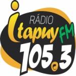 Logo da emissora Rádio Itapuy 105.3 FM