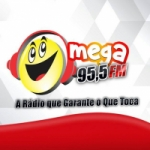 Logo da emissora Radio Mega 95.5 FM