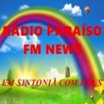 Logo da emissora Paraíso FM News
