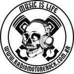 Logo da emissora Rádio Motor e Rock