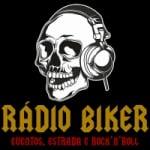 Logo da emissora Rádio Biker