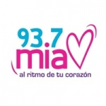 Logo da emissora Radio Mía 93.7 FM