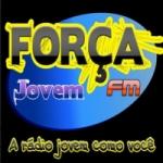 Logo da emissora Rádio Força Jovem FM