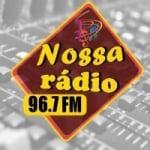 Logo da emissora Nossa Radio
