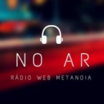 Logo da emissora Rádio Web Metanoia