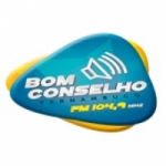 Logo da emissora Rádio Bom Conselho 104.9 FM