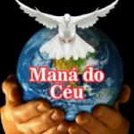 Logo da emissora Rádio Maná do Céu