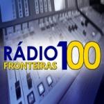 Logo da emissora Rádio 100 Fronteiras