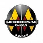 Logo da emissora Rádio Meridional 88.5 FM