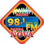 Logo da emissora Barra Nova FM