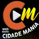 Logo da emissora Cidade Mania Flasch Back Anos 80