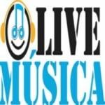 Logo da emissora Live Musica