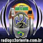 Logo da emissora Rádio Px2 Oriente