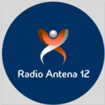 Logo da emissora Rádio Antena 12