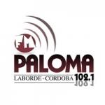 Logo da emissora Radio Paloma FM 102.1