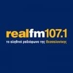 Logo da emissora Radio Real FM 107.1