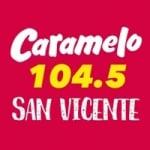 Logo da emissora Radio Caramelo FM 104.5