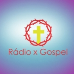 Logo da emissora Rádio X Gospel
