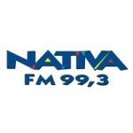 Logo da emissora Rádio Nativa 99.3 FM