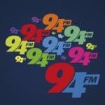 Logo da emissora Rádio 94.5 FM