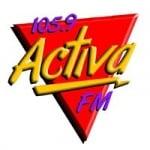 Logo da emissora Radio Activa 105.9 FM
