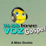 Logo da emissora Rádio Voz Love Gospel