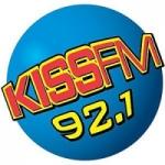 Logo da emissora Radio KTSR Kiss 92.1 FM