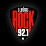 Logo da emissora Radio Classic Rock 92.1
