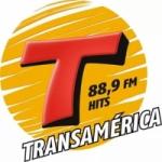 Logo da emissora Rádio Transamérica 88.9 FM