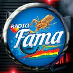 Logo da emissora Rádio Fama FM
