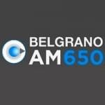 Logo da emissora Radio Belgrano 650 AM