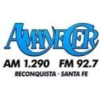 Logo da emissora Radio Amanecer 1290 AM 92.7 FM