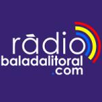 Logo da emissora Rádio Balada Litoral
